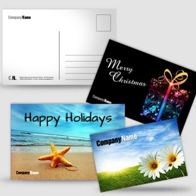 Cartoline senza plastificazione
