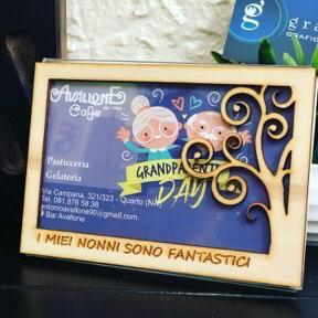 Cornice Nonni Legno 10 x 15 cm