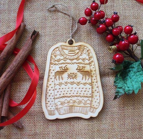 Pallina Natale Maglione