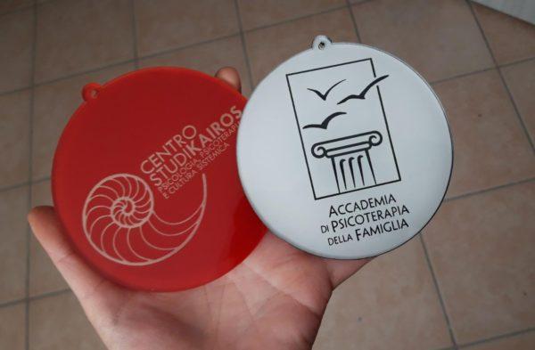 Pallina Natale con Logo