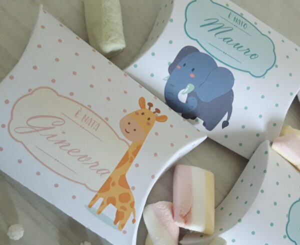Scatola Confetti Personalizzata mod. Busta