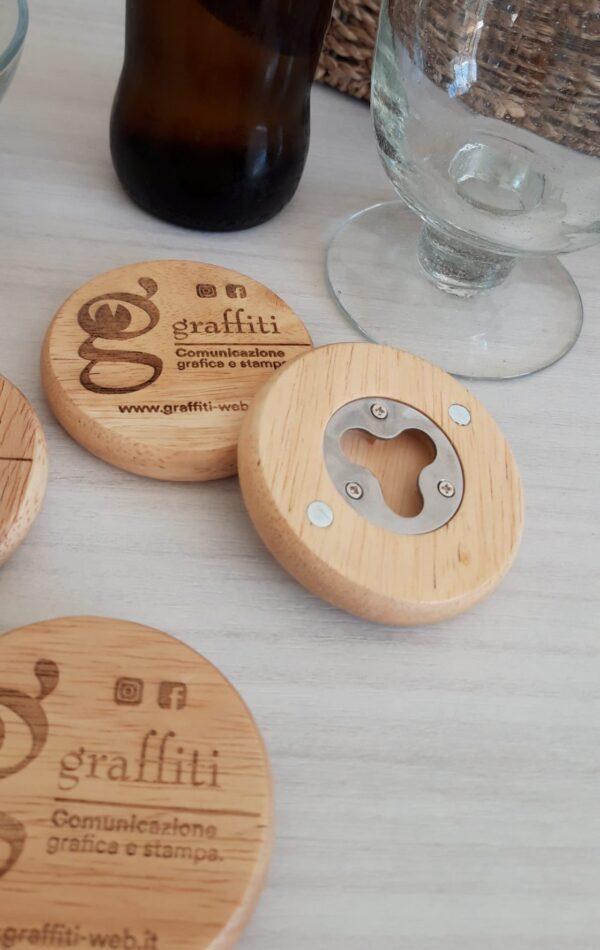 Apribottiglie legno Personalizzato